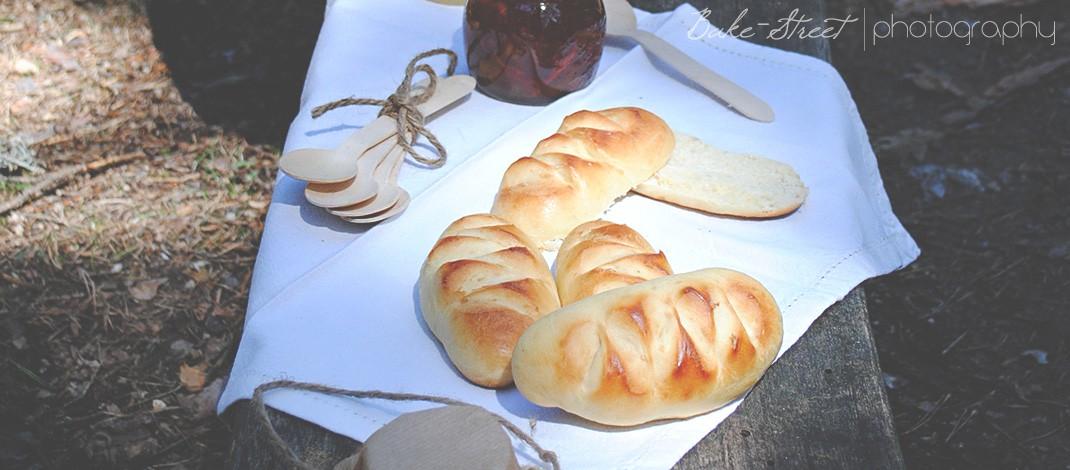 La cesta de Caperucita Roja: Pan de leche - Pain au lait