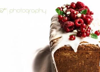 Loaf Cake de frambuesas y limón