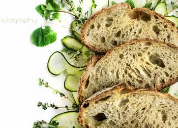 Pan de pepino y tangzhong