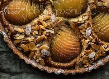 Tarte Bourdaloue, tarta de peras y crema de almendra