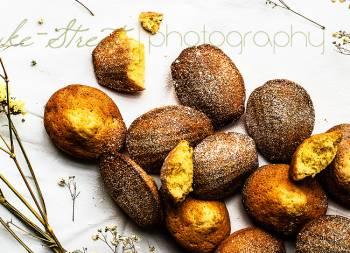 Madeleines de beurre noisette y naranja