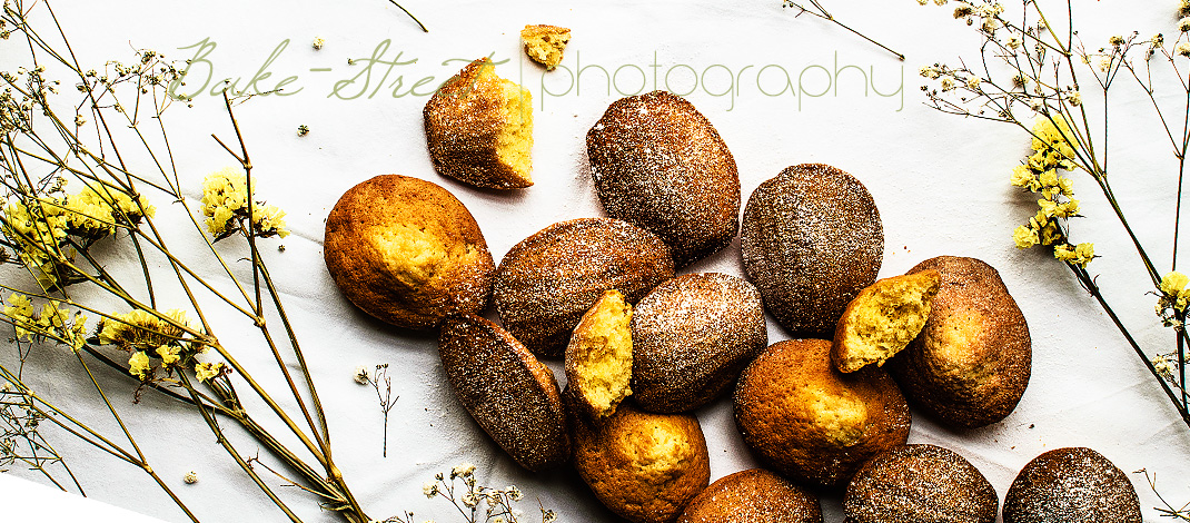 Beurre noisette and orange madeleines