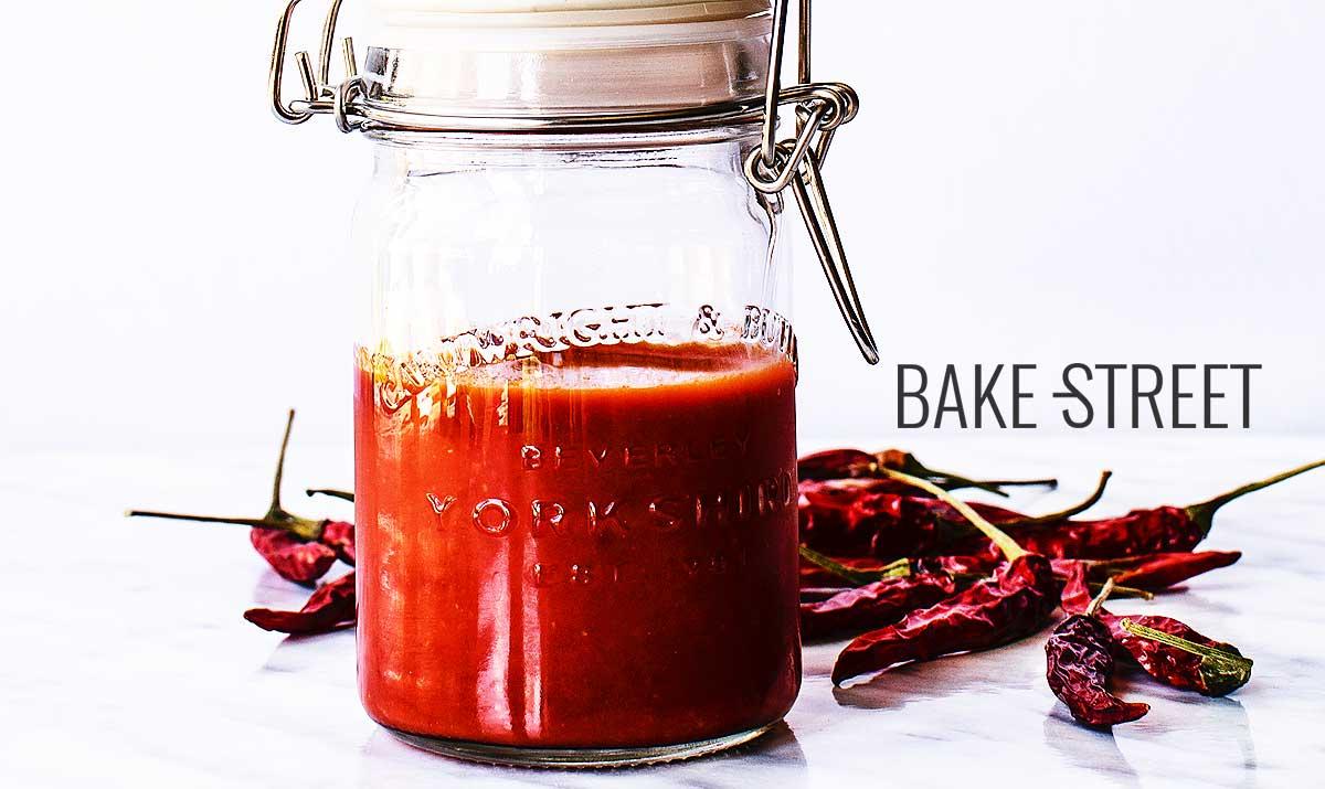 Salsa Sriracha fermentada