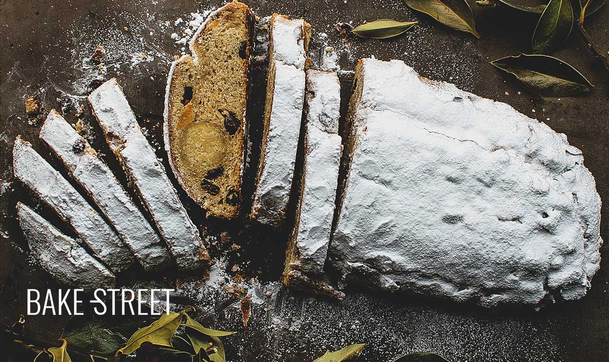 Stollen, German Christmas bread
