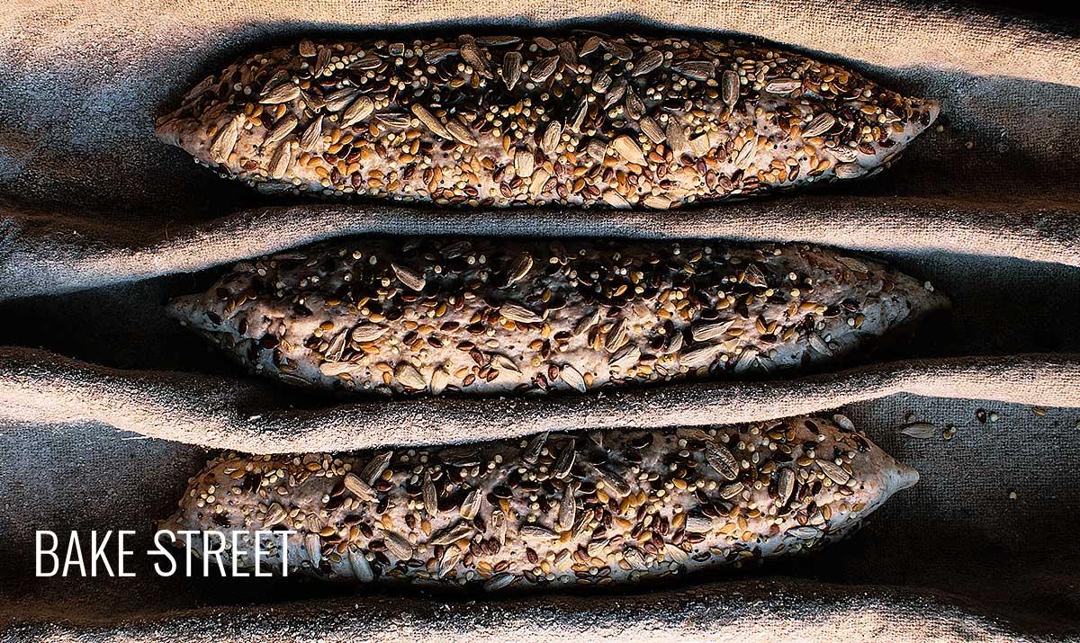 Barritas integrales con semillas