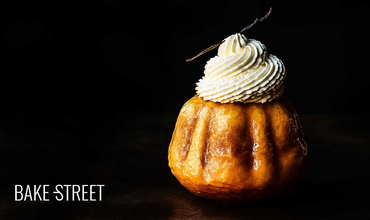 Baba au Rhum with Chantilly