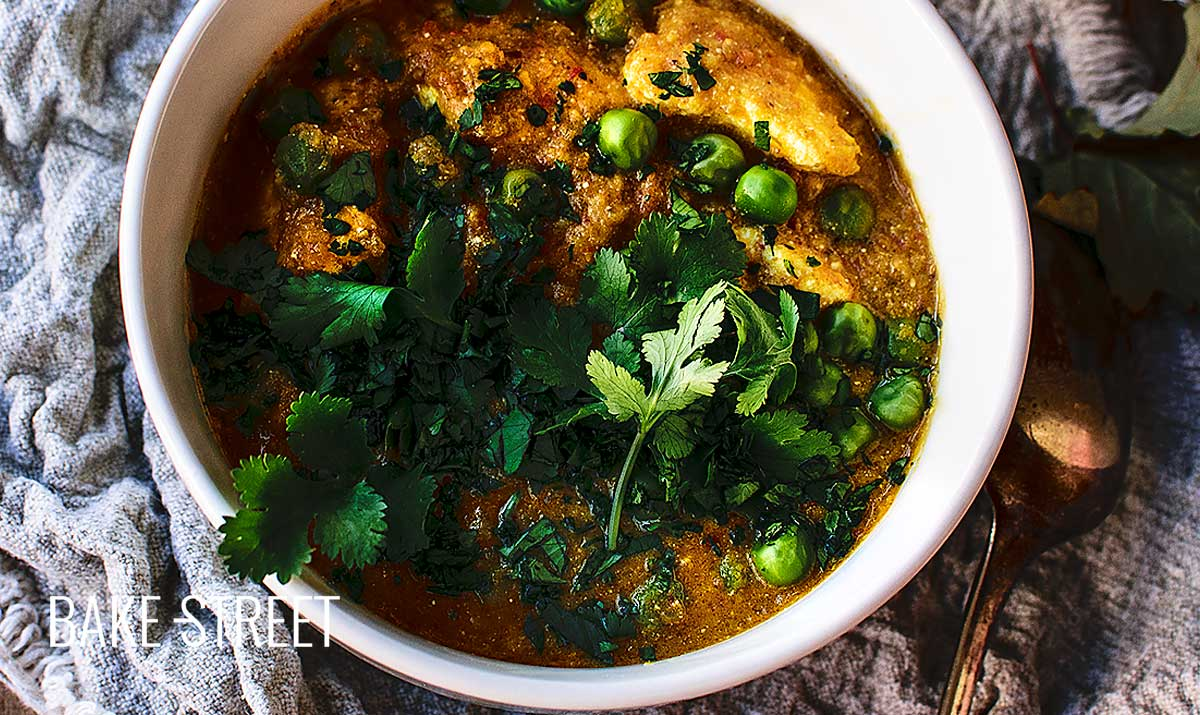 Matar Paneer, Indian flavors