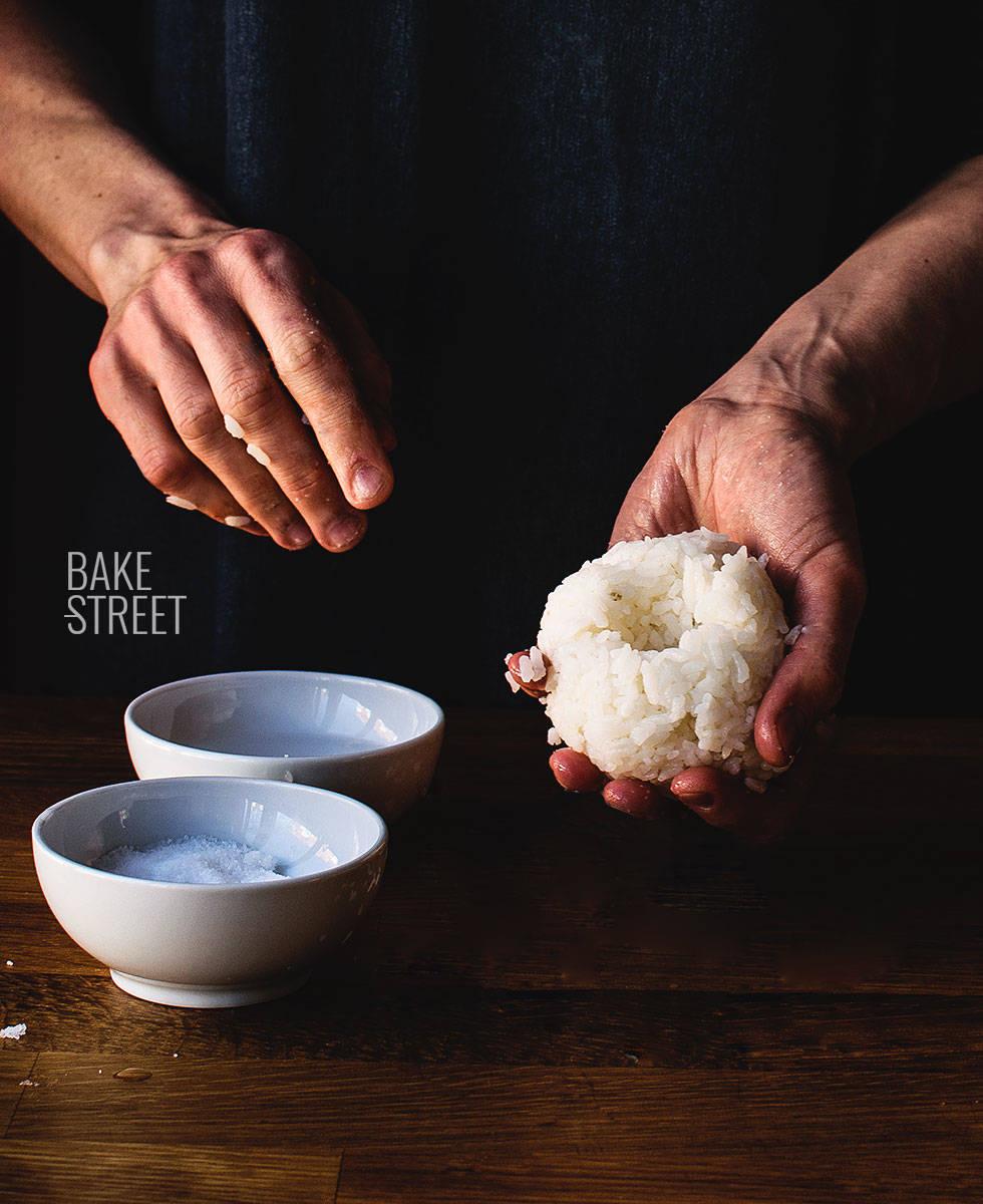 Yaki Onigiri con salsa Miso