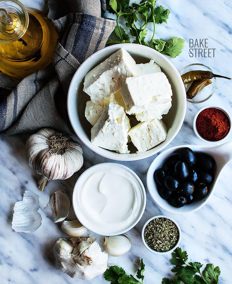 Tirokafteri, crema picante de queso griega