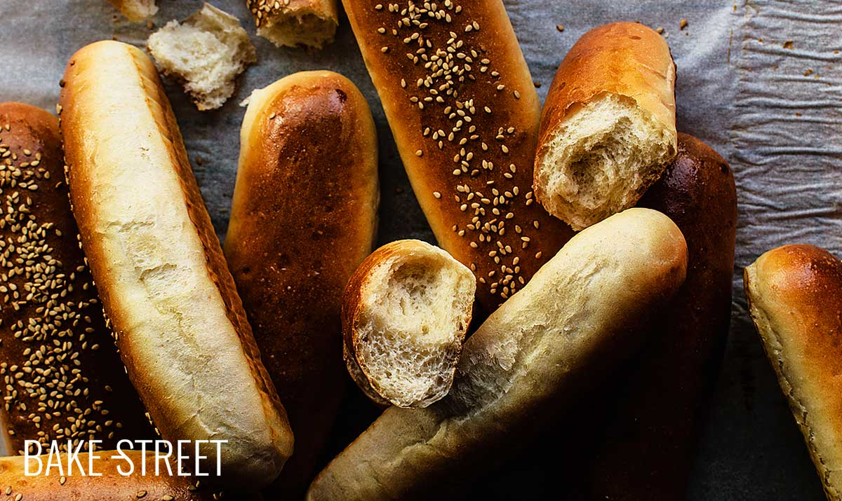 Hot Dog Buns Bake Street Com