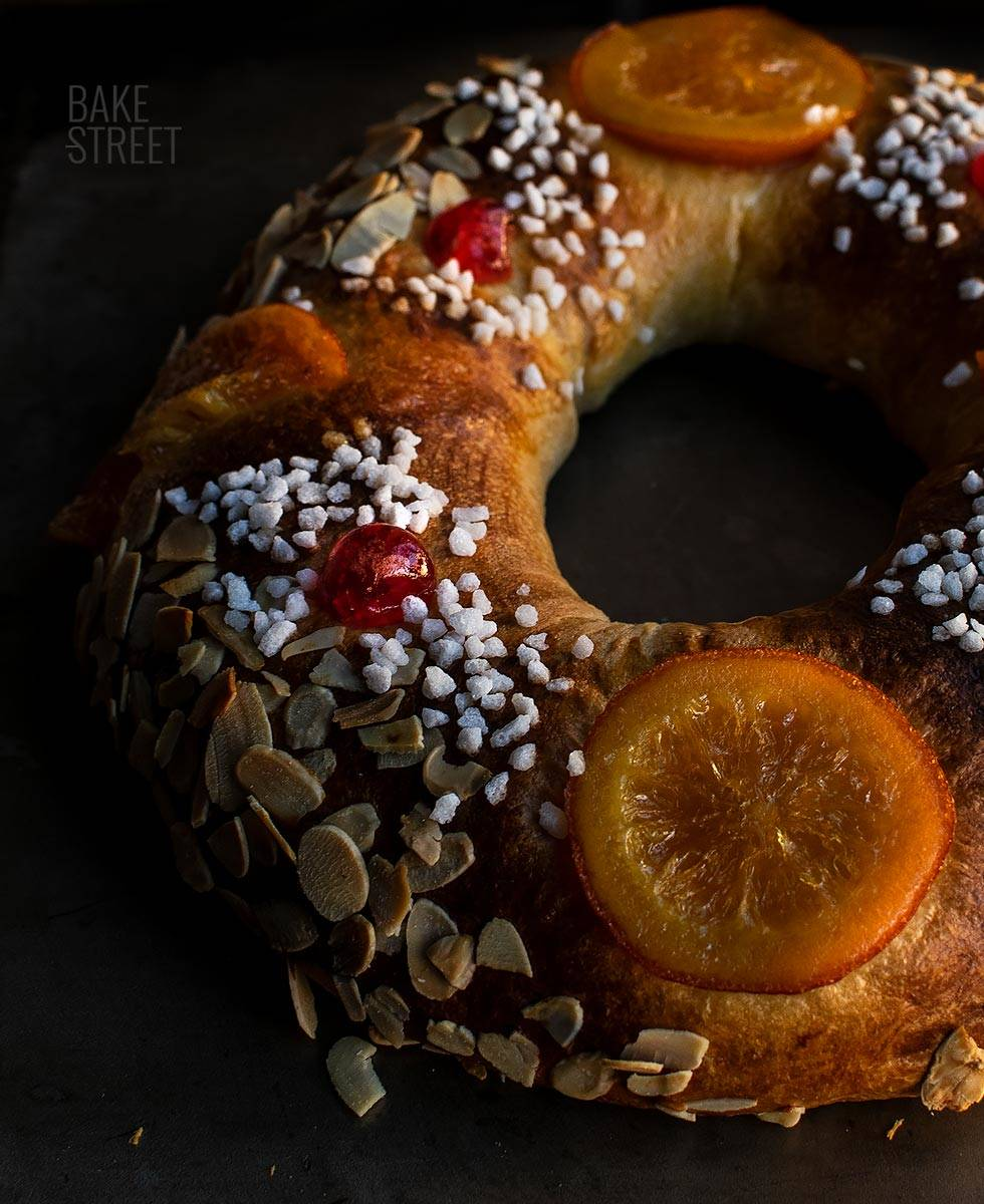 Roscón de Reyes con masa madre