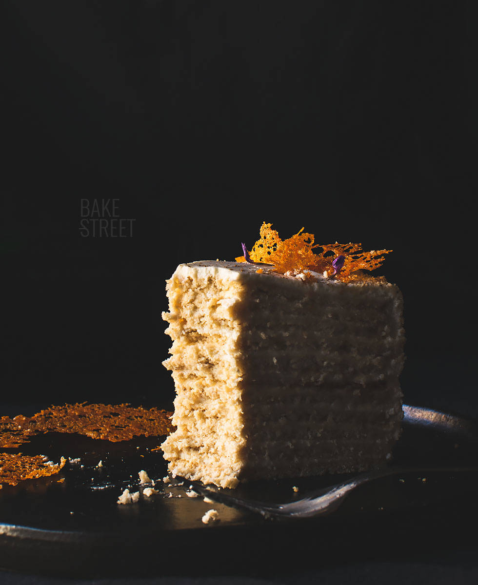 Tort Medovik - Russian Honey Cake