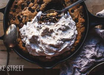 Skillet Chocolate Chip & Nutella Cookie
