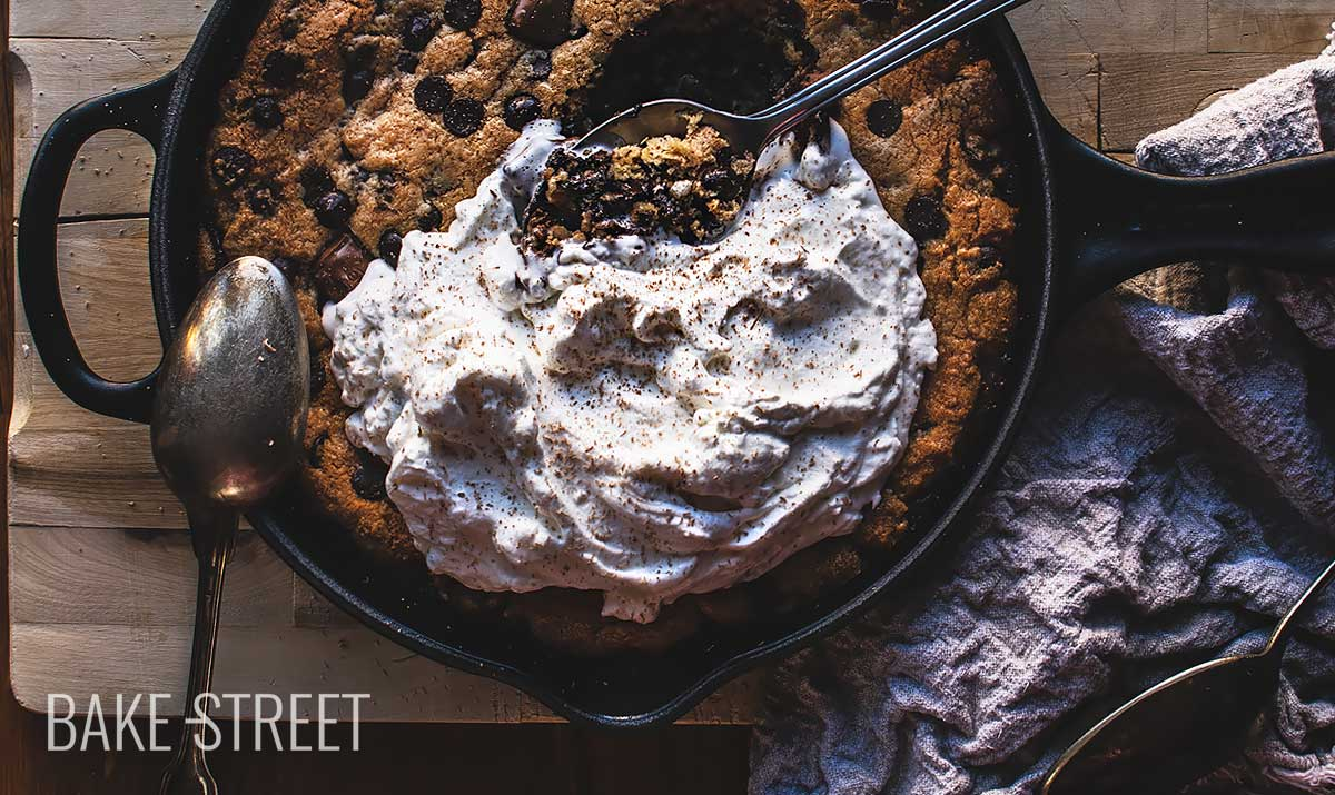 Skillet Cookie – Galleta en sartén
