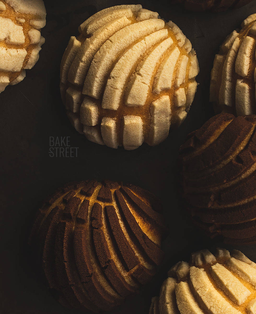 Conchas Mexicanas Pan Dulce Tradicional Bake Street Com