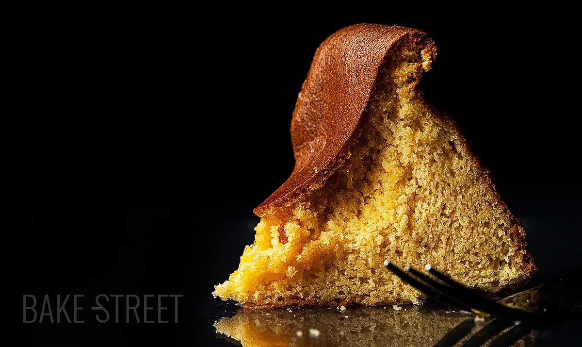 Boko Castella – Honey Custard Cake