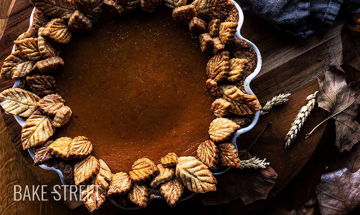 Pastel de calabaza – Pumpkin Pie