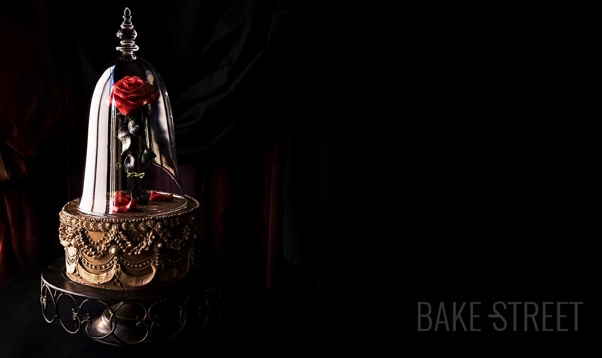 Enchanted Rose Cake, Beauty and the Beast