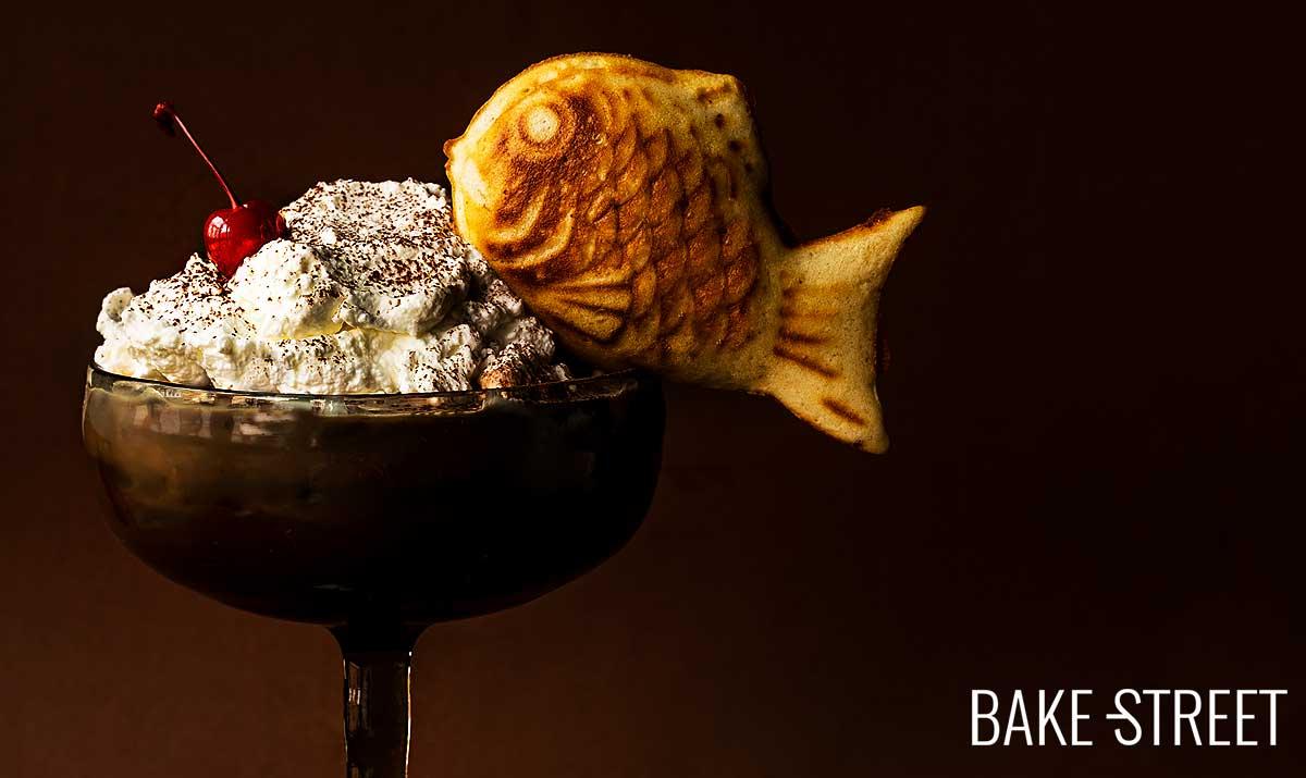 How to make Taiyaki + Black Forest Milkshake