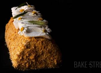 Russian Napoleon Cake – Puff pastry log