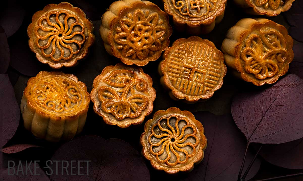 How to make Mooncakes – Red bean paste