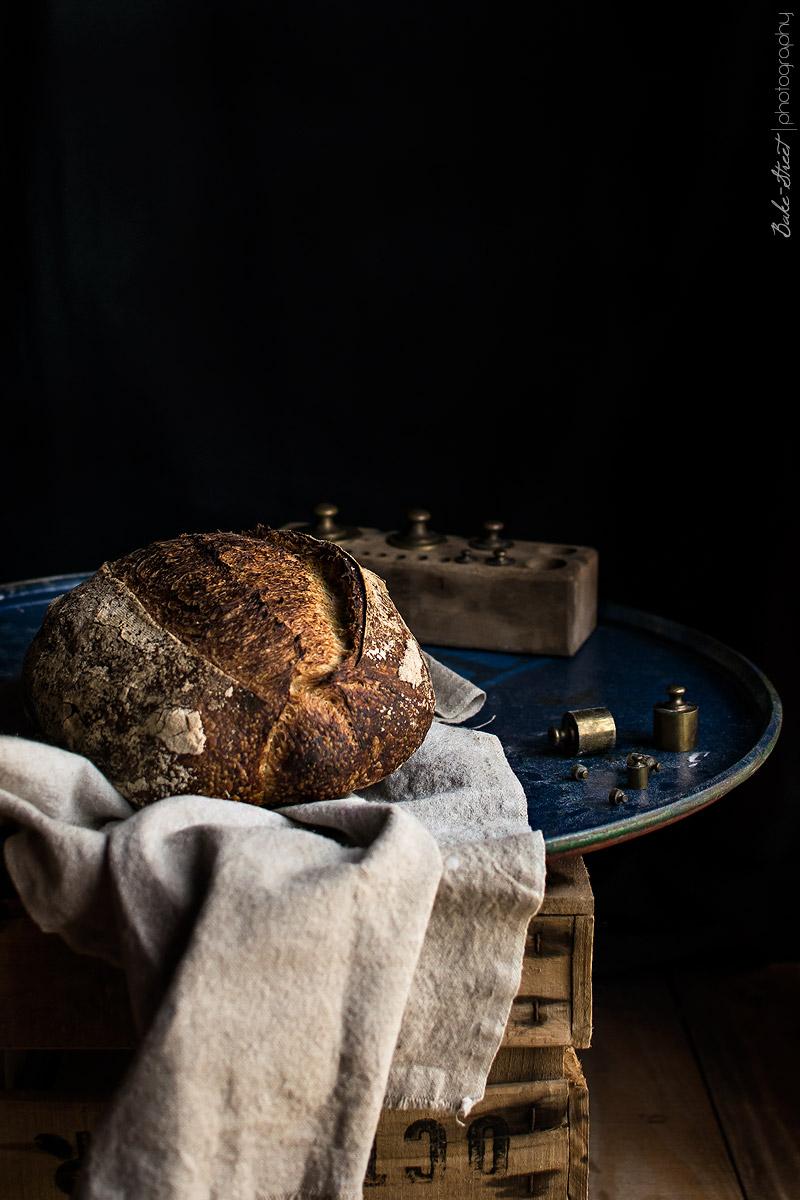 Pan de agua fermentada de frutas
