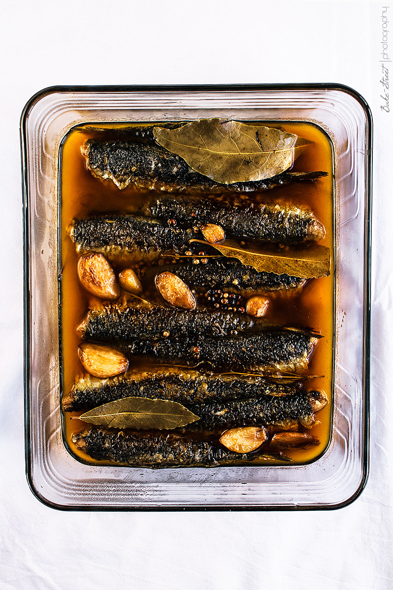 Cómo hacer sardinas en escabeche