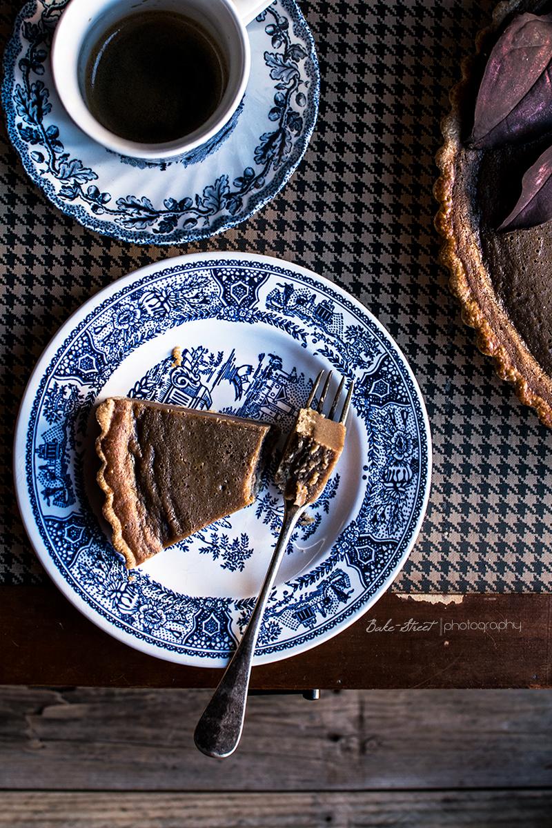 Tarta de castañas con marrons glacés