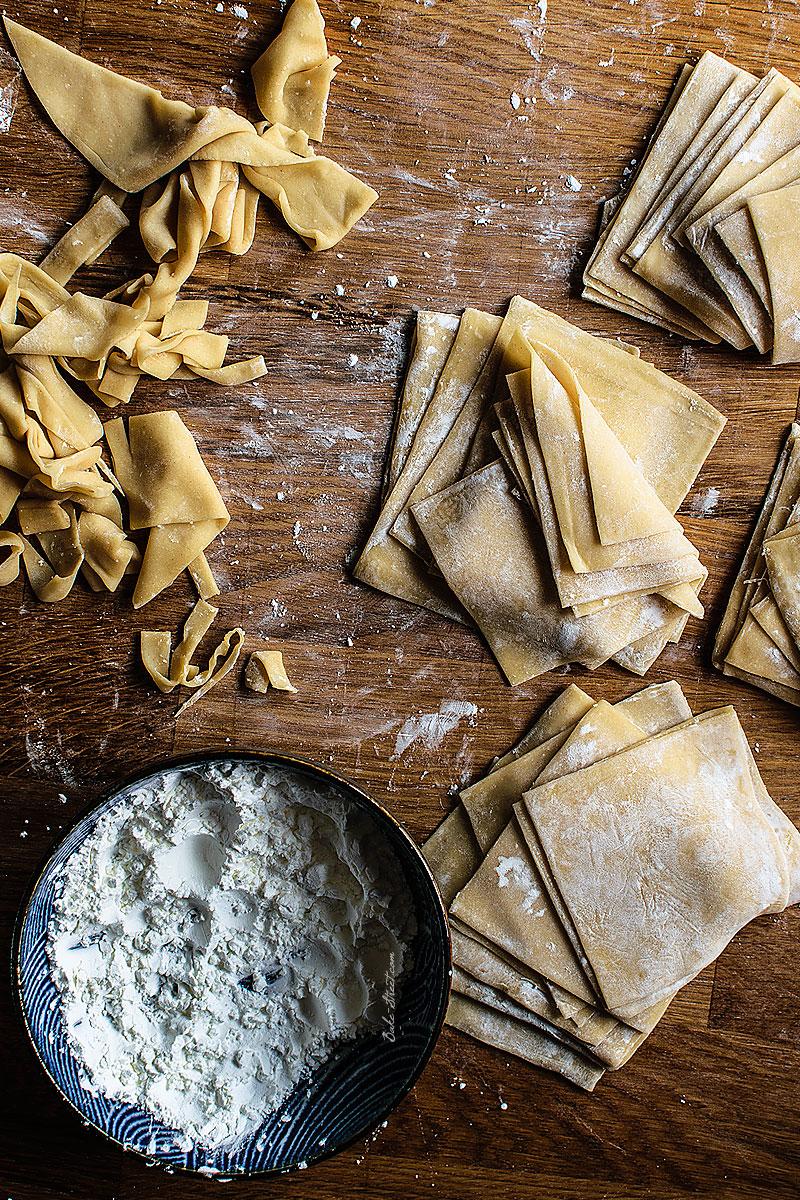 Cómo hacer pasta para wonton